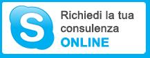 Richiedi la tua consulenza online